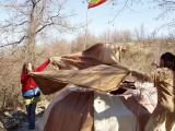 2003 Osho Inipi Circle covering the Inipi