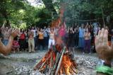 2007 Osho Inipi Circle 10th year - the Inipi camp