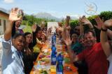 Momenti del corso: la calda ospitalità dei bellunesi e il loro cibo squisito!