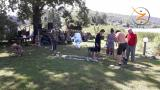 Inipi Experience - Osho Inipi Circle con Arshad Moscogiuri e OIC Staff - i preparativi del camp nella splendida location sul lago di Comabbio a Varano Borghi (Va)