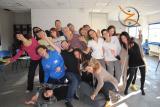 21-22 novembre, Centering a Belluno: il gruppo (quasi) al completo, dimostra la perfetta centratura (!)